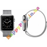Apple Watch 38mm Stainless Steel Case with Milanese Loop (MJ322LL/A)