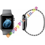 Apple Watch 42mm Space Black Case with Space Black Stainless Steel Link Bracelet (MJ482LL/A)
