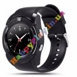 Умные часы Smart watch V8 спорт классик black