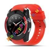 Умные часы Smart watch V8 спорт классик red