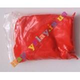 Воздушный пластилин, красный