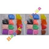 Воздушный пластилин, набор 24 цвета