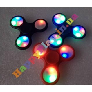 Спиннер игрушка-антистресс Fidget Hand Spinner Цветные огни с доставкой вся Украина