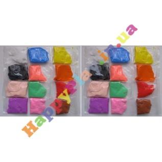 Воздушный пластилин, набор 24 цвета с доставкой вся Украина